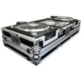 Road Ready RRDJCDX10W 10-Inch Mixer Coffin for Numark CDX or Turntables (Color: Black)