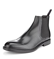Sartorial Leather Chelsea Boots