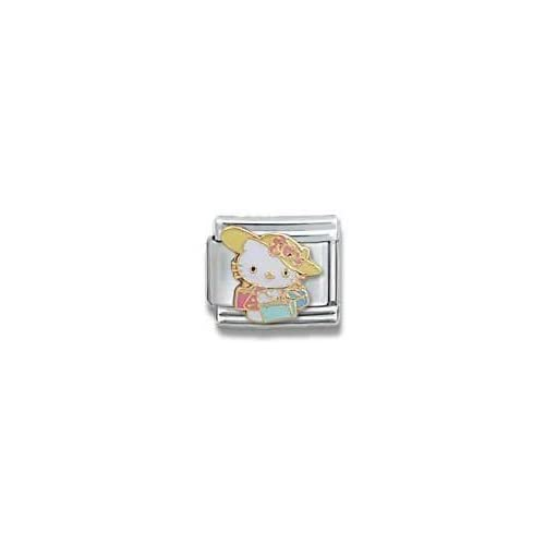 Licensed Sanrio Hello Kitty Beach Hat Italian Charm