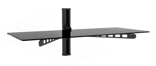 Sonax C-803-SCM 35-Inch Wide Midnight Black Component Wall Shelf (Extra Wide Floating Shelves compare prices)