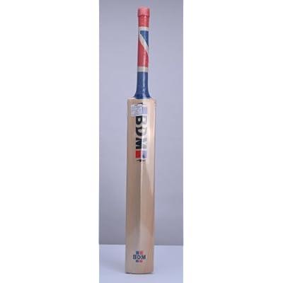 BDM Training Kashmir Willow Cricket Bat, Short Handle