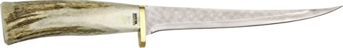 Silver Stag Fillet Fixed Knife