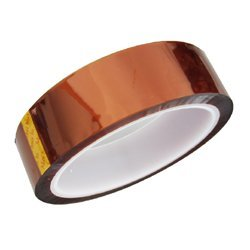 Bplus Kapton Tape: Width 25mm (1inch) , Length 33m , Thickness 0.06mm- for electronic work