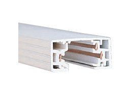 Wac Lighting Ht8-Wt H Series 8-Feet Track With 2 Endcaps, White
