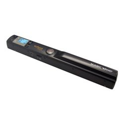 VuPoint Solutions PDS-ST441-VP Magic Wand Portable Scanner w/ Preview Display, 900 DPI Resolution, USB 2.0 (Black)