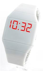 Montre LED Silicone Gris WILD TOUCH 6