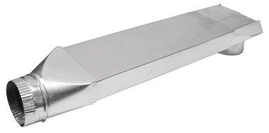 Lambro Industries Alu Straight Vent Duct 3008 Aluminum Ducts
