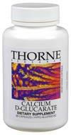 Thorne Research Calcium D-Glucarate, 90 Vegetarian Capsules