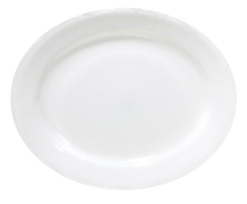 Corelle Livingware 9-1/2-Inch Oval Platter, Winter Frost White