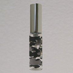 ヤマダアトマイザー グラスアトマイザー 迷彩柄 60563 グレー シルバー 4ml