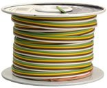 Coleman Cable 51544-03 100-Feet Spool Of Trailer Wire, 14-Gauge 4-Conductor