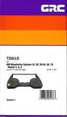 Grc Ibm 1337765 T350-Lo Lift Off Tape - T350