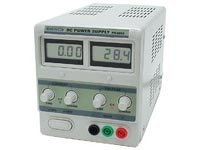 Velleman PS3003U Fixed Lab Power Supply 0-30V / 0-3A Dual Lcd Display