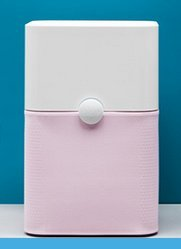 Blueair Blue Pure 211 540-Litre Air Purifier (Crystal Pink)