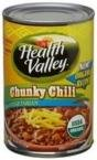 Healthy Valley Organic Chunky Vegetarian Mild Chili N ( 12x15 OZ)