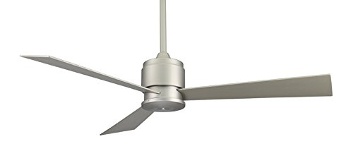 Fanimation FP4630SN 54-Inch Zonix 3-Blade Ceiling Fan, Satin Nickel with Satin Nickel Blades (Ceiling Fan Zonix compare prices)