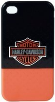 Harley Davidson iPhone 4 Black and Orange Cover