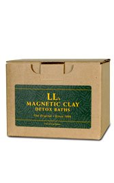LL's Magnetic Clay MERCURY II Clay Bath Deep Detox for Mercury from Dental Fillings, Vaccines, Mercury Exposure Detoxify