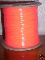 Glow Orange Rexlace