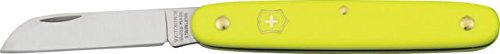 Victorinox Floral Knife Yellow Fold Knife 3.9050.70 front-934309