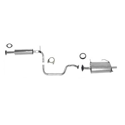 97 - 3 / 99 Nissan Maxima 3.0L Federal Emission Exhaust System Muffler Resonator Pipe