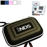 Airform Leather Case for Ds Lite NDS Lite Nitendo Console (7 Color to Choose From) + Crystal Clear LCD Protector with Cleaning Cloth (Many Color Available).