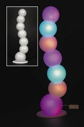 LED COLOR CHANGING BUBBLE LAMP
