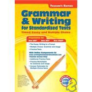 grammar writing standardized tests timed essay multiple choice Other standardized tests,  even in timed writing situations  multiple-choice and constructed-response reading comprehension questions.