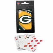 Green Bay Packers Team Logo Vortex Design Playing Cards by Hunter MFG