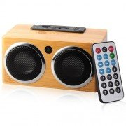 Eco-friendly Hand-made Bamboo Card Speaker- Back to Nature