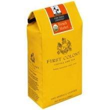 First Colony French Market Coffee Dark Roast Organic -- 12 oz