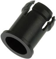 """Bivar C-174L Led Holder, 0.3"""", Black, 5Mm Led (50 Pieces)"""