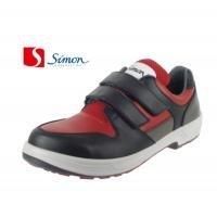 シモン安全靴 トリセオシリーズ 短靴 赤/黒 27.5 8518REDBK27.5
