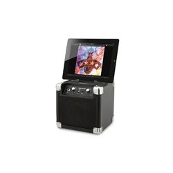 Ion Road Rocker Compact Portable Speaker System With Auxilliary Usb Charger front-552612