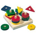 Haba Wood Shape Stacker