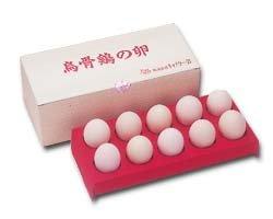 烏骨鶏有精卵10 個セット(化粧箱入)