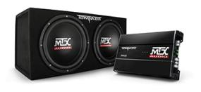 TNP212D2 Amp and Enclosure Package