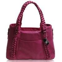 Epiphanie Clover Shoulder Camera Bag, Fuchsia