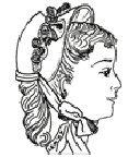 1874-1890 Bebe Bonnet Pattern