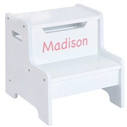 Personalized Expressions Step Stool-White from Guidecraft