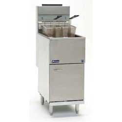 Pitco Frialator 35CS Commercial Gas Fryer - Economy 35-40 lb. Oil Capacity