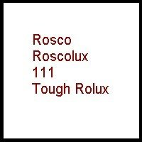 Rosco Tough Rolux 20X24 Diffusion Material - Rosco RS11111