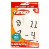 "Playskool, Ages 3+ ""Subtraction"" Flash Cards, 36 Cards - 1"