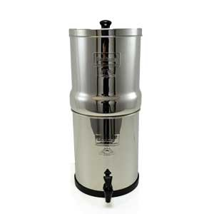 "Big Berkey Water Filter With 2 X 9"" Ceramic Filters"