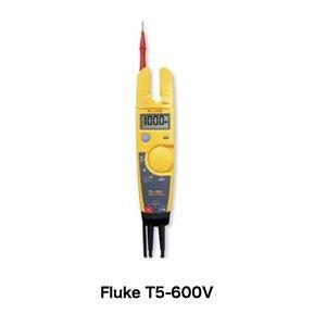 Fluke T5 tester volts-ohms-amps