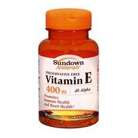 Sundown Naturals Sundown Naturals Vitamin E, 100 Caps 400 Iu(Pack Of 2)