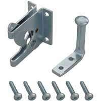 Mintcraft 33199Zcx-Bc3L Gate Latch Outswing, Zinc front-1081134