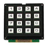 Velleman 16KEY Keypad 16 Keys Matrix Output