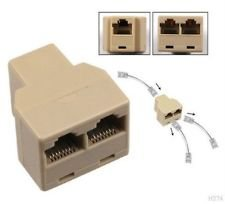 adaptateur connecteur adaptateur rj45 cat 5 6 lan ethernet. Black Bedroom Furniture Sets. Home Design Ideas