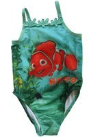 Disney Girl's 1 piece Finding Nemo swimsuit - 2T Girls Swimsuit